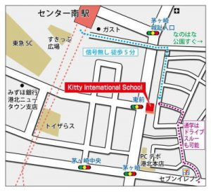 kitty-center-minami-map